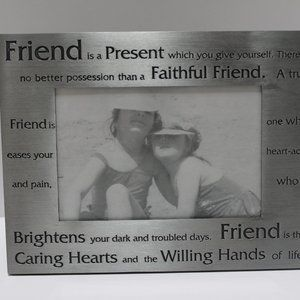 Friend Horizontal Picture Frame